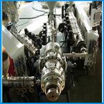 three-layer co-extruded PP-R /PP/PE pipe production line