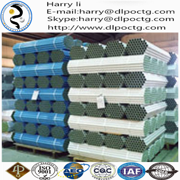 """Tianjin dalipu p110 grade k55 seamless joint steel pipe and 7-5/8"""" casing pup joint"""