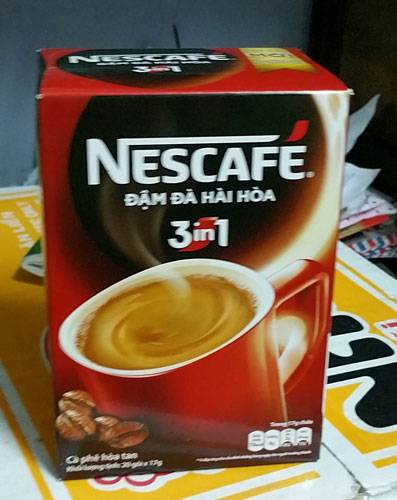 3-in-1 instant coffee - Nest
