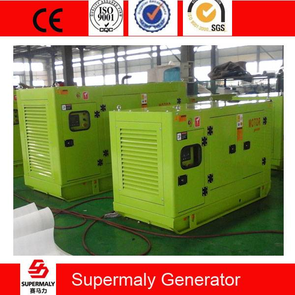 Silent 80KVA 60KW Diesel Generator by Cummins Engine 6BT5.9-G2