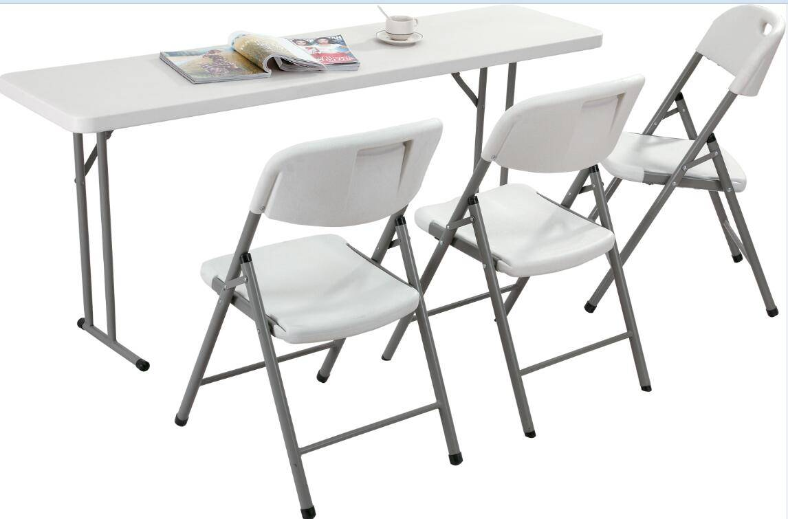 Terstle Rectangle Plastic Folding Table (YCZ-180)