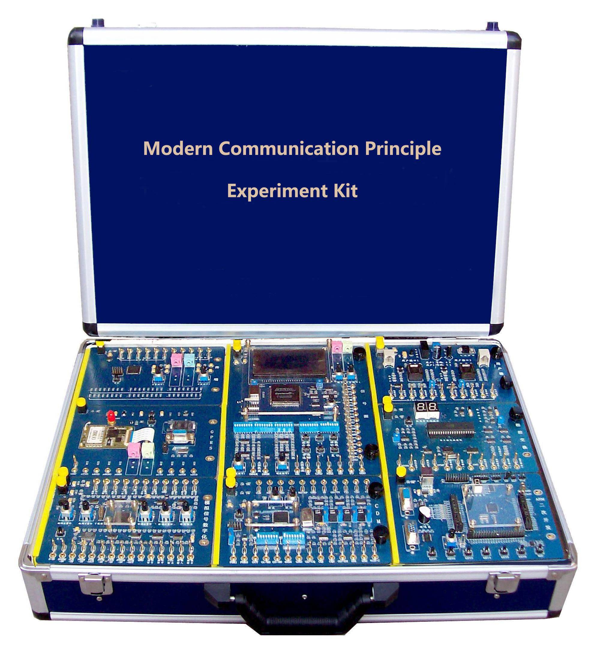 didactic educational training equipment / ES0402G Modern Communication Principle Experiment Kit