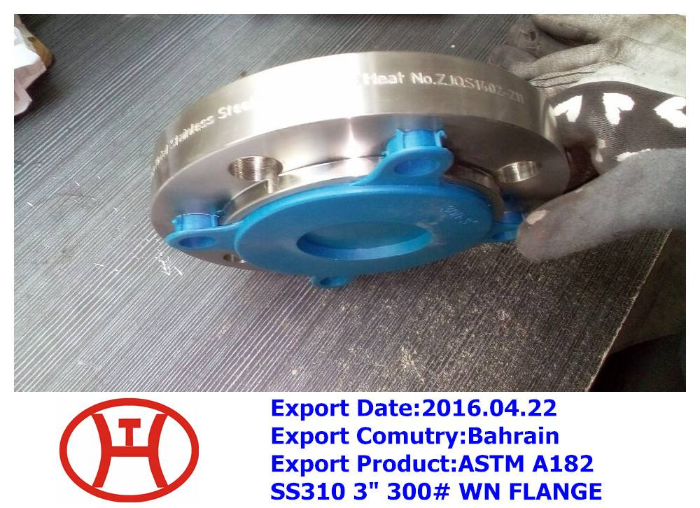 """ASTM A182 SS310 3"""" 300# WN FLANGE"""