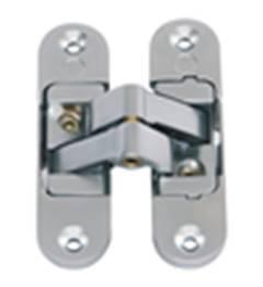3D adjustable invisible door hinge