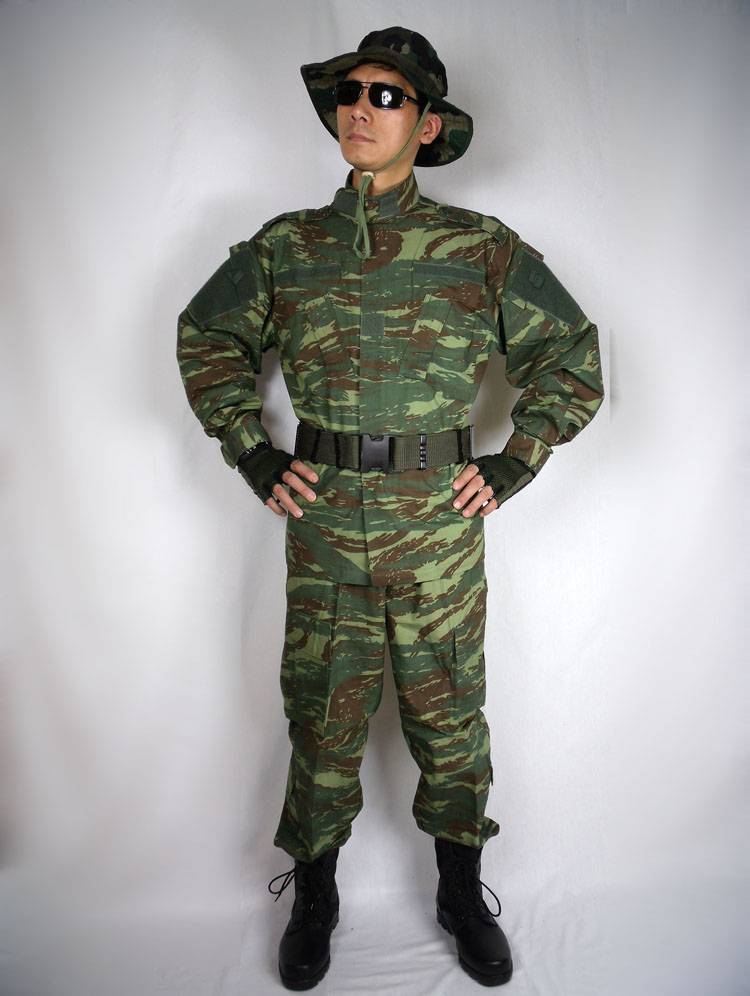 ACU Greece military uniform