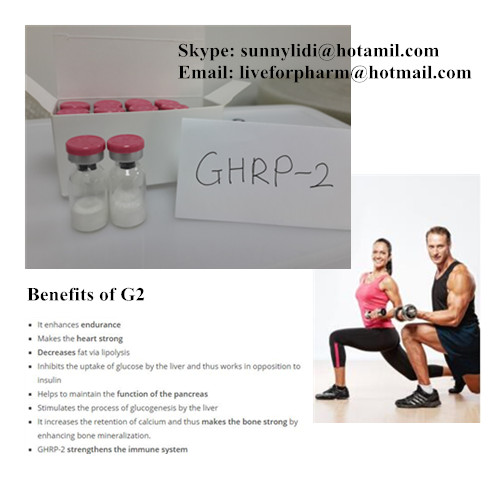 PEPTIDE GHRP-2 CAS 158861-67-7 98.8% above purity