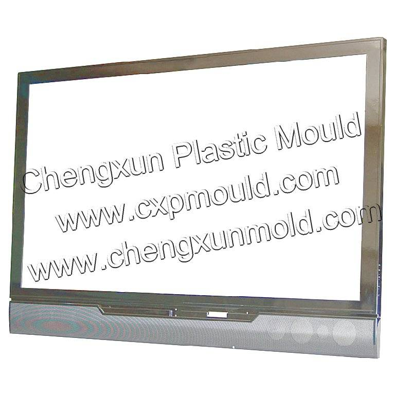 TV mould/television mould/LCD tv mould/tv set mould/plastic television shell mould/home appliance Mo