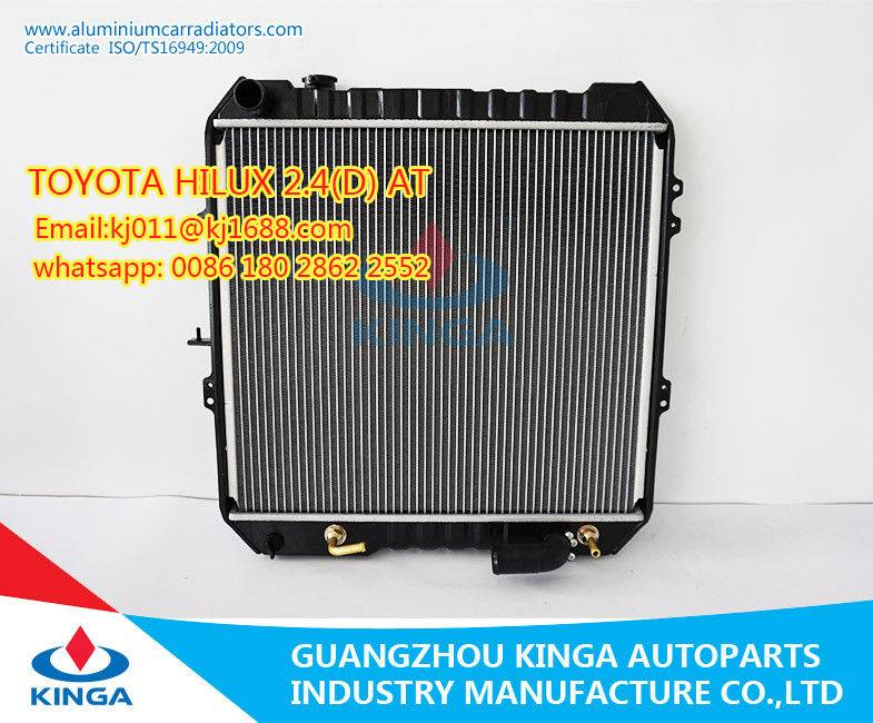 Kinga radiators radiadores TOYOTA HILUX 2.4(D) AT