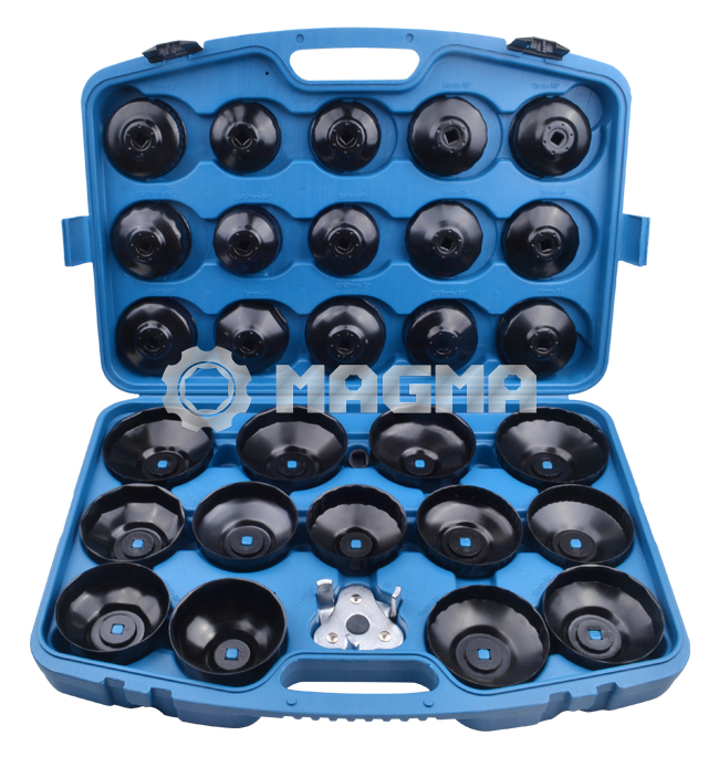 30 Pcs Oil Filter Wrench Kit - Cup Type (MG50038)