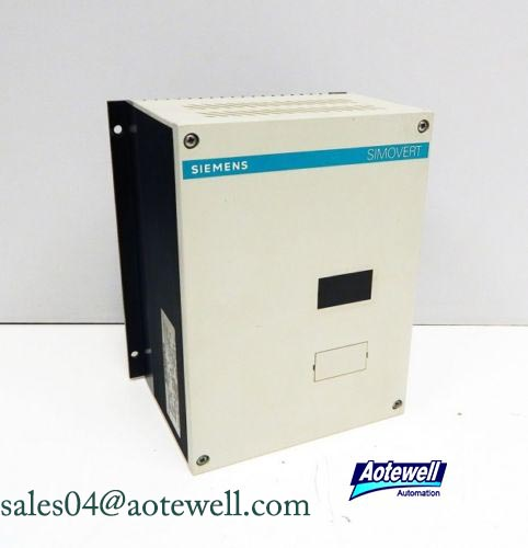 Siemens Simovert Control Module Masterdrives Vertor Control Funtion