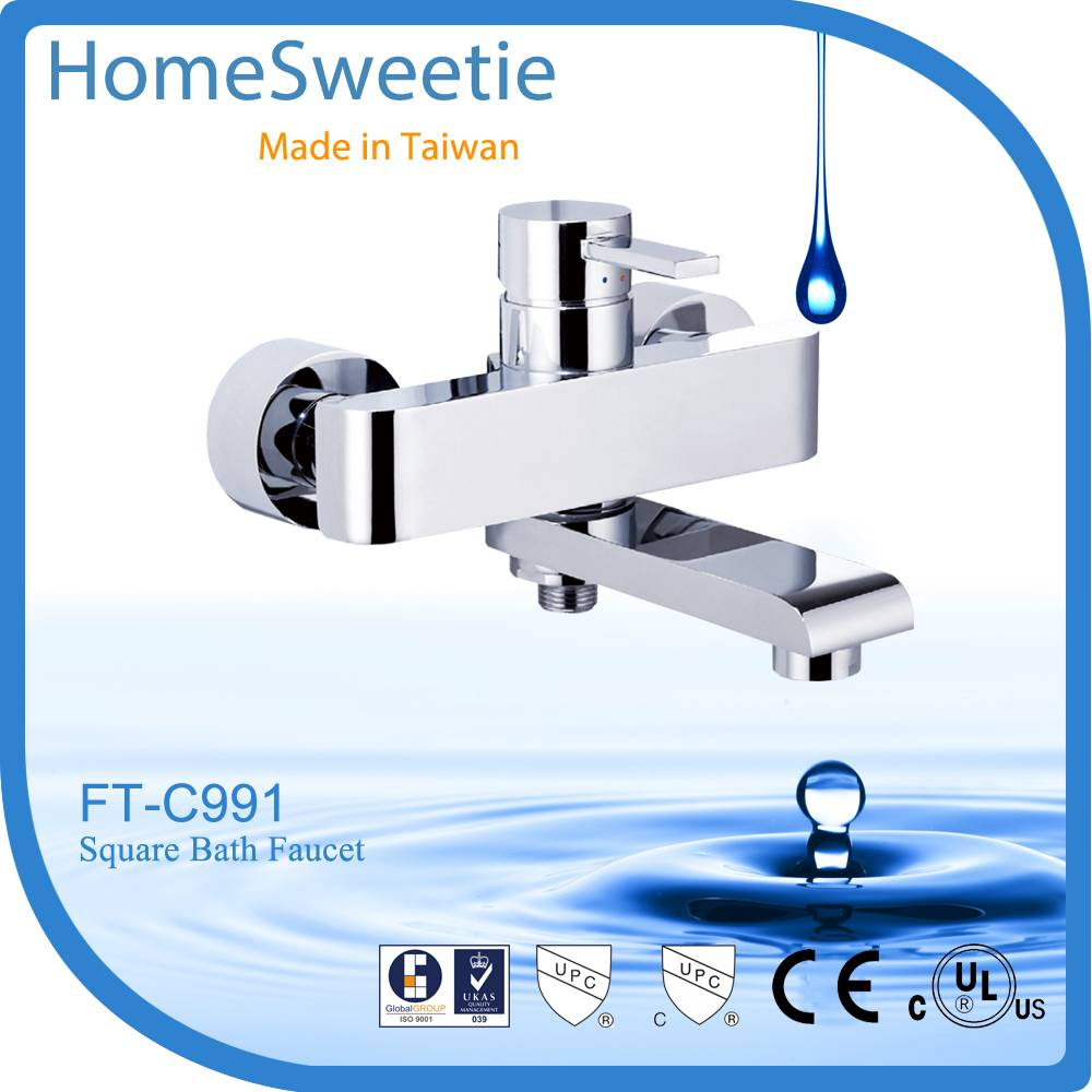 HomeSweetie-Taiwan Reliable Manufacturer for Single handel Solid Brass Bathroom Faucet
