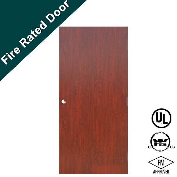 UL/INTERTEK Fireproof Wooden Fire Rated Door