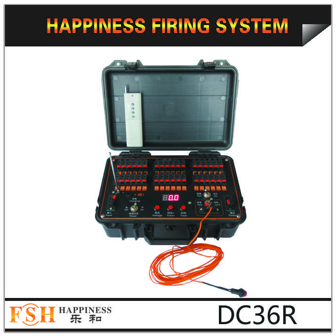 36 channels fireworks firing system, rechargeable firing system,Fireworks firing System, fireworks m