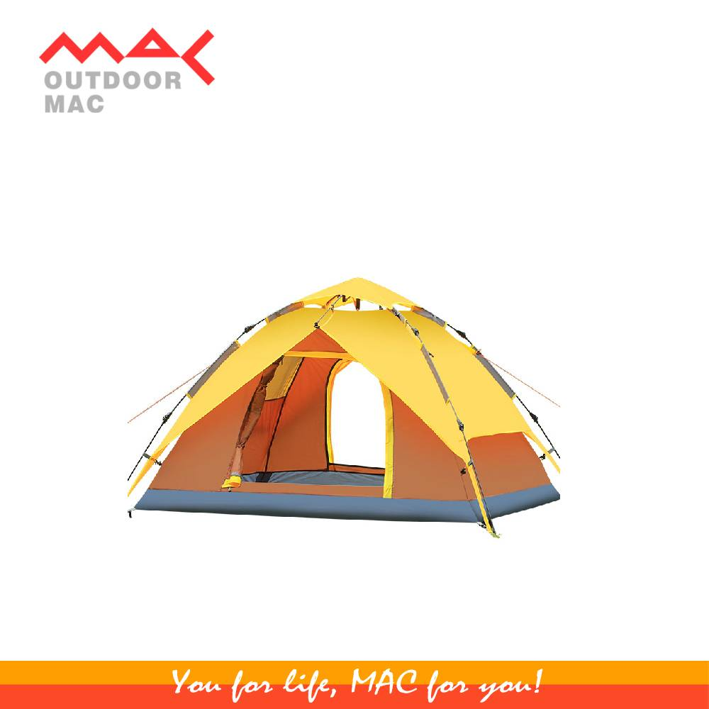 3-4 person Camping tent /automatic tent/ outdoor camping tent mactent mac outdoor