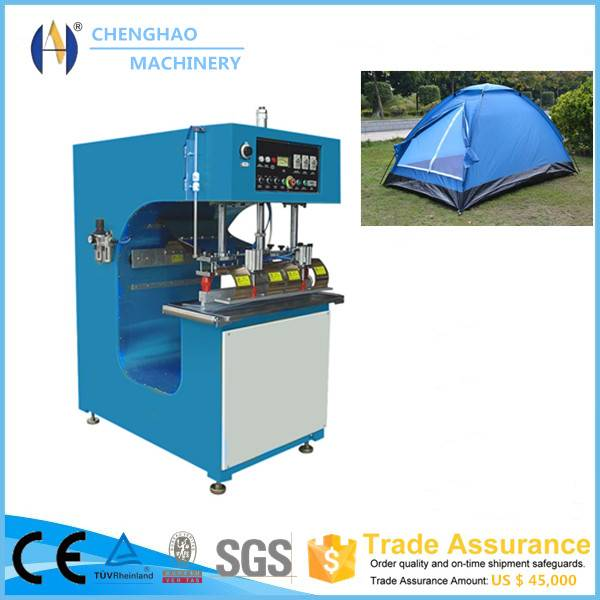 Trade Assurance alibaba recommend high frequency pvc tent/tarpaulin/carvas welding machine