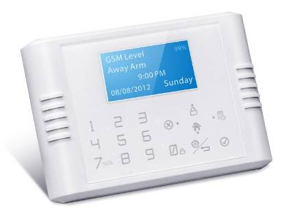 Intelligent GSM+PSTN Touch Screen Keypad Alarm System with CE Certification (GS-G180E)
