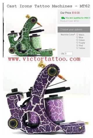 Cast Irons Tattoo Machines