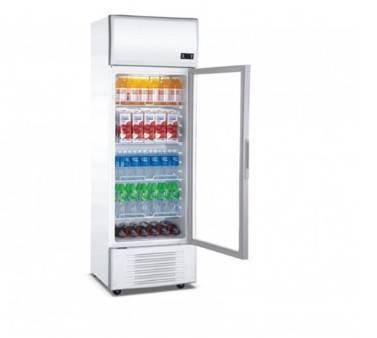 250Liter Beverage Cooler(Fan Cooling)Show Case