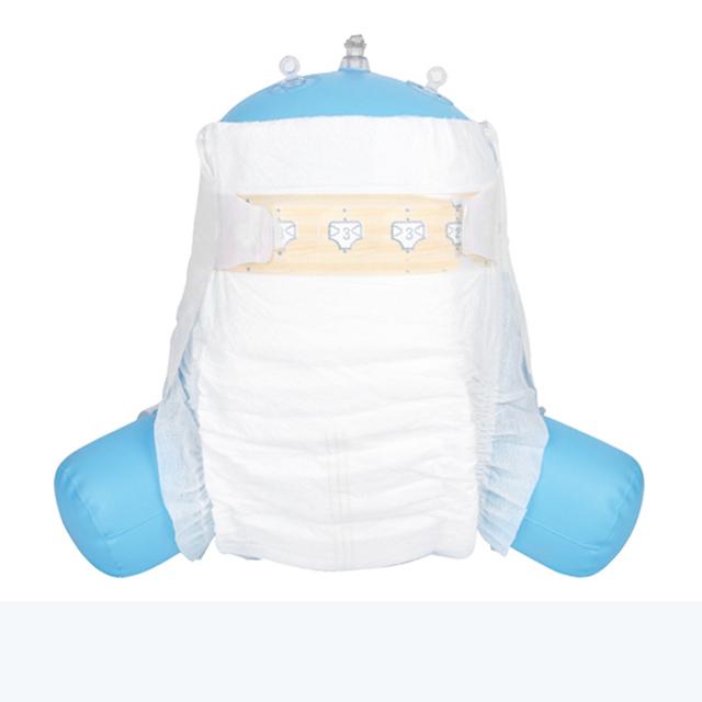 disposable new born cute design pe film muslin OEM custom brand name baby diapers bales bengal germa