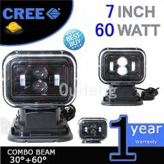 Remote Control 360° Cree Led Search Spot Light Offroad Jeep/Hummer Car Boat