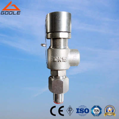 A21 Spring loaded low lift external thread type safety valve