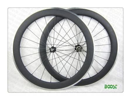 700C 60mm Clincher Carbon Alloy Road Bike wheel 23mm Width