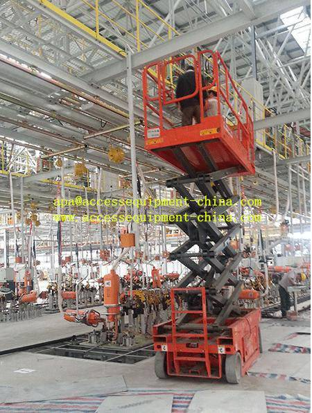 10m Self Propelled Electric Man Lift with CE
