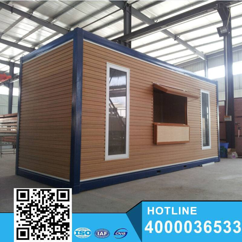2015 low cost beautiful flat pack container house for sale
