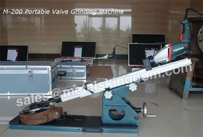 M-200 Portable Gate Valve Grinding Machine Portable Valve Grinding and Lapping Machine