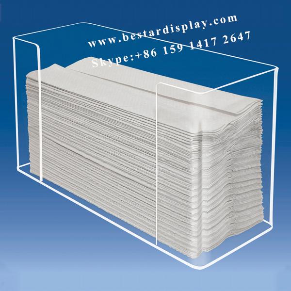 Custom made Plexiglass PMMA acrylic paper towel dispenser