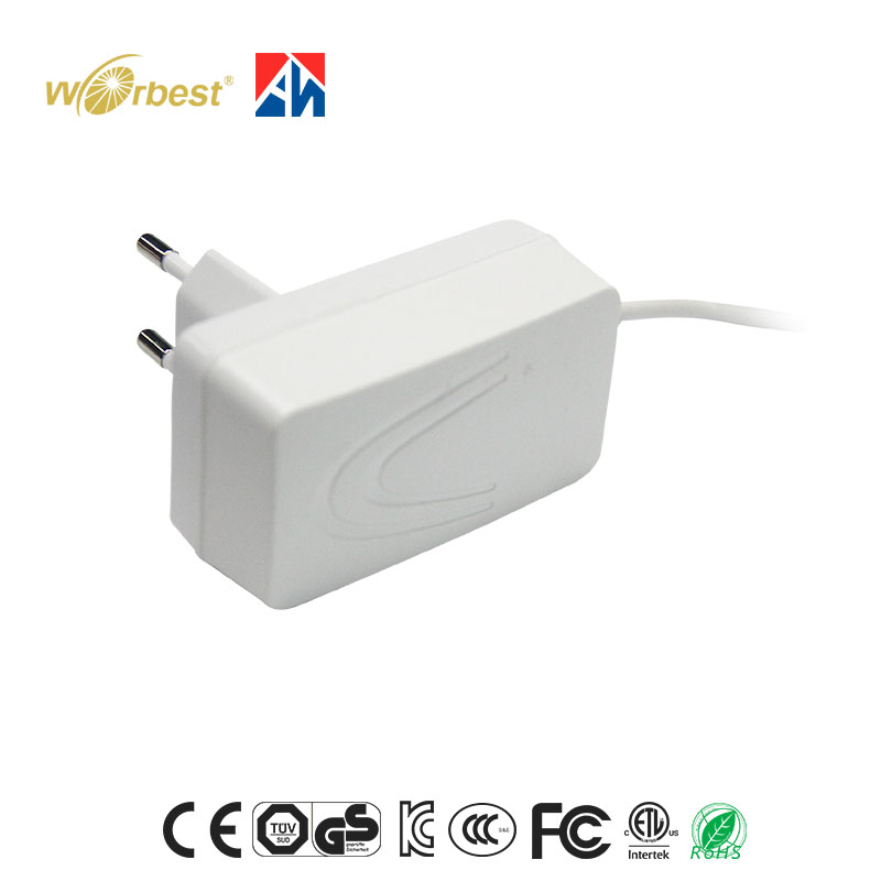 12V 1A AC/DC Adapter Class 2 Wall Plug Mounted 12W Power Adapter for LED