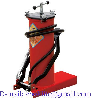 High pressure equipment portable foot grease pump lubrication bucket - 6L