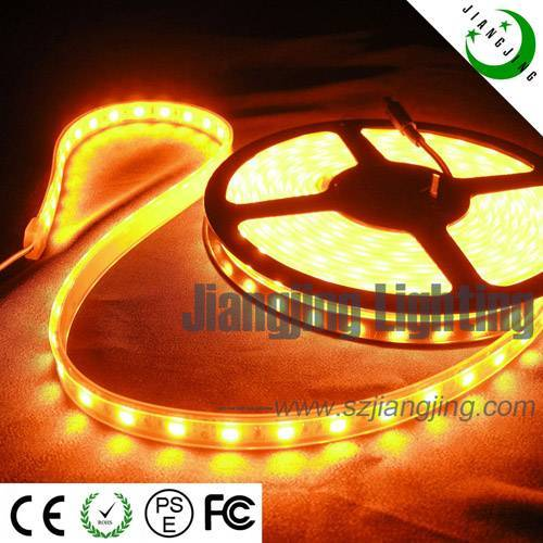 60LED/Meter--Yellow SMD5050 Flexible LED Strip