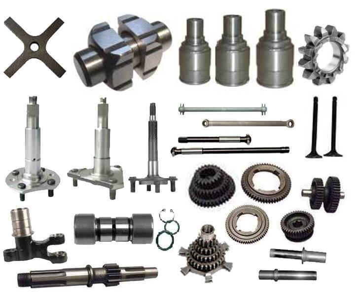Three wheeler Wheel Axle and Engine Parts
