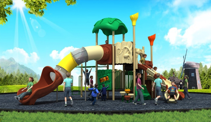 Latest Outdoor Playground Equipment for Kids Original Ecological Forest Series WD-SL118