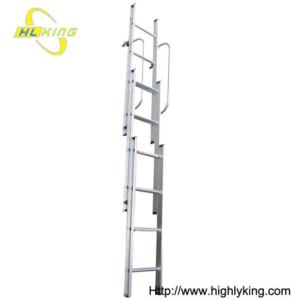 Aluminium folding loft ladder