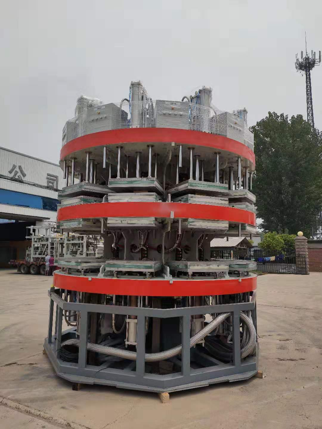 Eco-Friendly Disposable Paper Food Container Making Machine