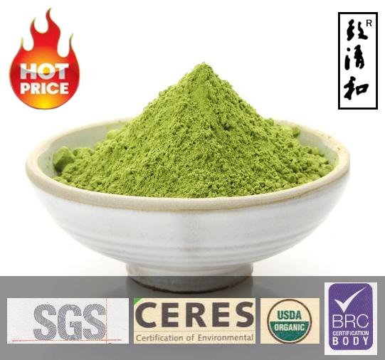 Superior USDA BRC DAKKS Organic Green Tea Powder Matcha