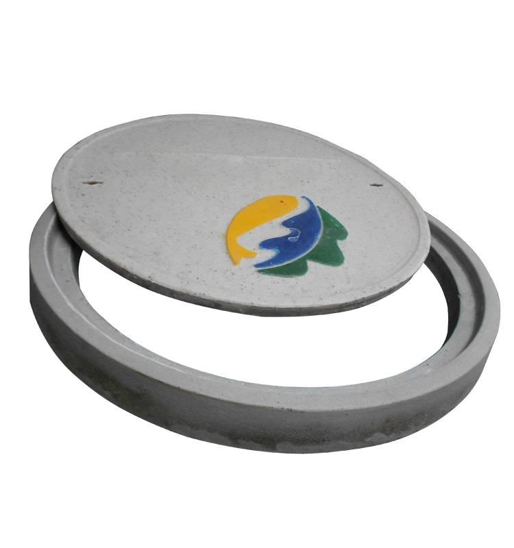 frp manhole cover with frame