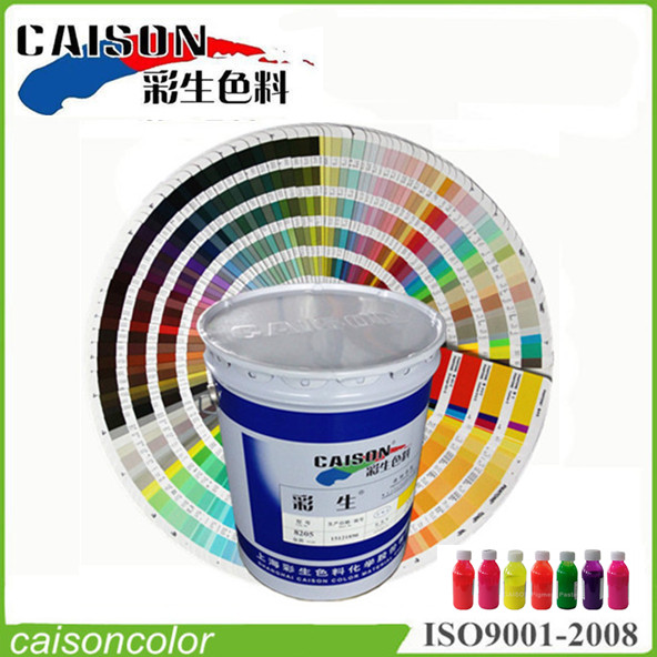 Water-based pigment paste applications