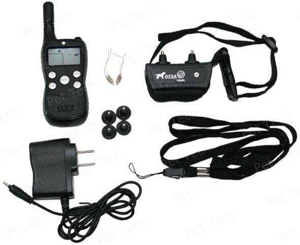 Dog Training System Support 3 Dogs with Submersible Transmitter and Collar (P-033)