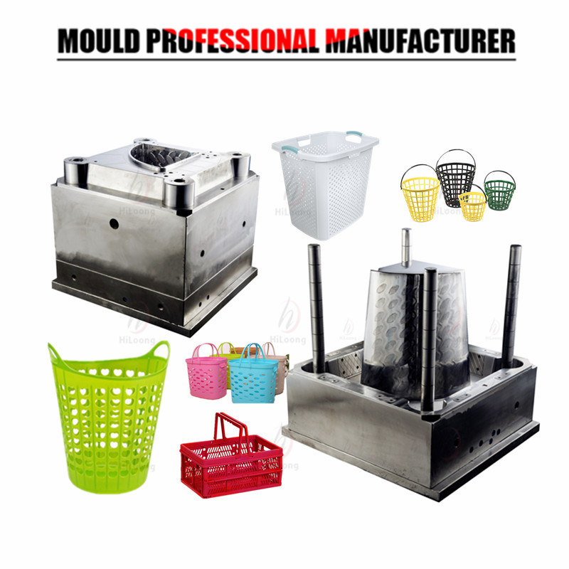 plastic injection molding basket mold