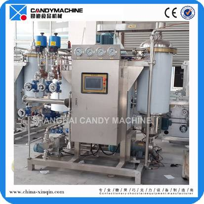 Gold medal hard candy machinery