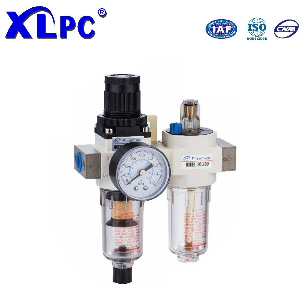 Filter Pressure Reducing Valve Regulator Lubricator Pneumatic Components