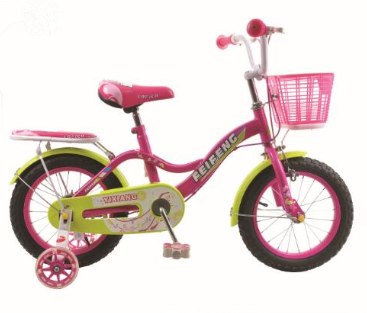 high quality European design girls 12 16 20 inch kids bike bicycle wih BACK SEAT