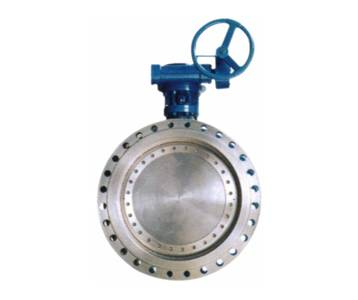 worm gear control butterfly valve