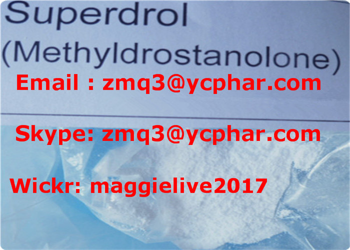 Muscle Building Steroids Powder Superdrol CAS 3381-88-2 Manufacturer