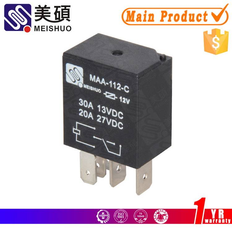 Meishuo MAA 20A 30A 12V micro relay