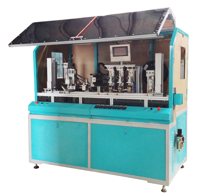 SMCCM-4 Full Automatic Milling and Chip Implanting and Testing Machine