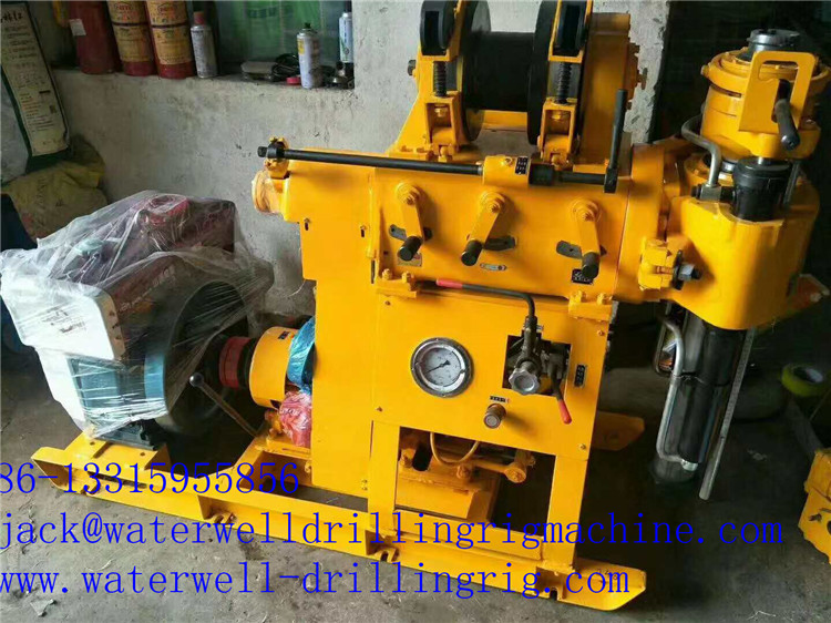 22kw Hard Rock Core Drilling Rig For Geological Investigation Drill